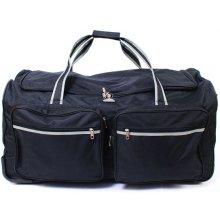 Airtex velká cestovní taška na kolečkách 160 l Černá