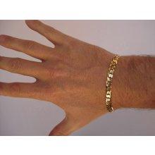 Briline zlatý pánský náramek 3040469n