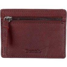 Bench Leather Card Coin Holder Buffalo Brown Tan BR11357 peněženka