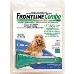 Frontline Combo Spot on Dog M 1 x 1,34 ml (pes 10-20kg)