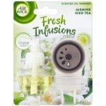 Air Wick Fresh Infusions Elektrický osvěžovač vzduchu a náplň jasmínový ledový čaj 19 ml