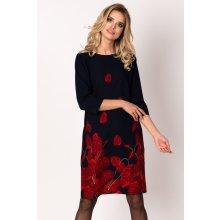 Avaro dámské šaty SU 1536 tmavomodrá 60a83957d9