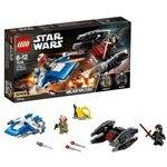 Lego Star Wars 85196 Stíhačka A-Wing vs. mikrostíhačka TIE Silenc