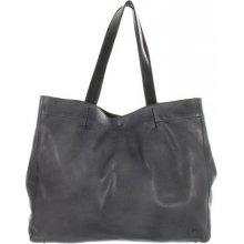 Another bag Why Not Vintage shopper tmavě šedý