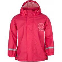 Loap Silvester dětská bunda červená/růžová