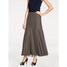 Linea Tesini by Heine šifónová sukně šedá 005abe13b4