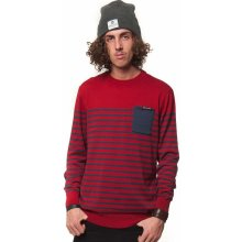 Horsefeathers spin sweater ruby
