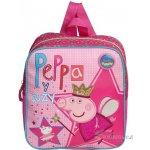 Azzar dětský batůžek Peppa Pig Víla růžový polyester