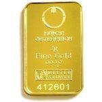 Münze Österreich Zlatý slitek 2 g