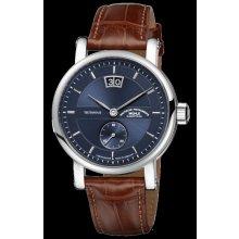 Teutonia II Grossdatum Chronometer Night Blue