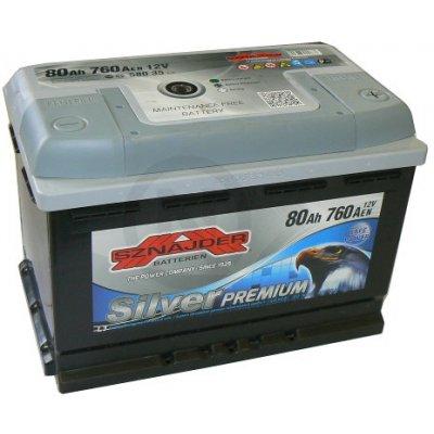Sznajder Silver Premium 12V 80Ah 760A 58035