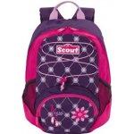 Scout dětský batoh ergonomický, motiv baleríny