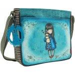 Santoro London Gorjuss taška přes rameno Hush Little Bunny modrá