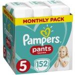 Pampers Plenkové kalhotky Pants 5 11-18 kg 152 ks