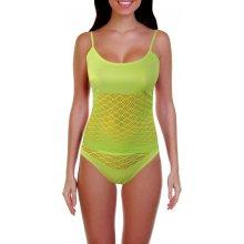 Naomi komplet košilka + tanga světle zelená
