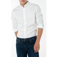 Gant pánská košile PINPOINT OXFORD Slim BD Bílá e6f16b9757