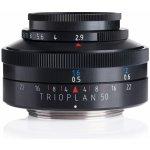 MEYER OPTIK GÖRLITZ 50 mm f/2,9 Trioplan micro 4/3