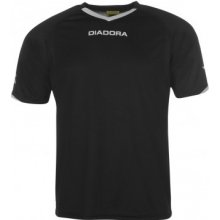 Diadora Havana T Shirt Mens Black/White