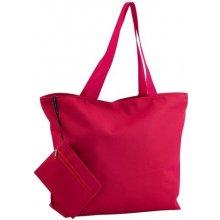 Monkey plážová taška Červená