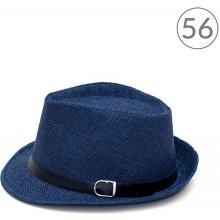 afde33d7004 Art of Polo Letní klobouk Trilby Classic modrý