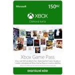 Microsoft Xbox Live předplacená karta 150 CZK