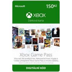 Karta Xbox Live.Microsoft Xbox Live Predplacena Karta 150 Czk Od 149 Kc Heureka Cz
