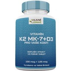 Hlavnězdravě Vitamín K2 MK-7 120 tablet