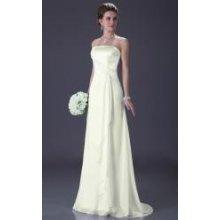 Saténové svatební šaty - více barev