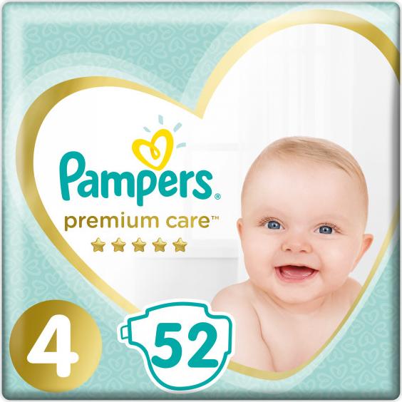 Pampers Premium Care 4 Maxi 8-14 kg 52 ks