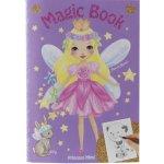 Omalovánka Magic Book My Style Princess Fialová
