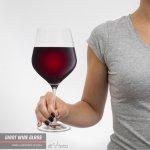 Di Vinto Obří sklenice na víno Průhledná Diamont 860ml