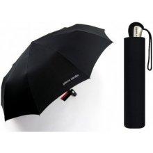 Pánský automatický černý deštník Pierre Cardin 84687 Noire Gents Mini Tecmatic