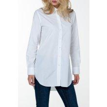 Gant dámská Košile GANT O1. PERFECT LONG SHIRT bílá