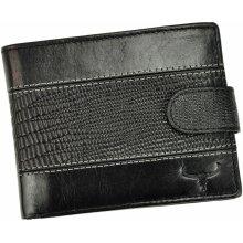 Wild Buffalo Pánská kožená peněženka N992L VTC RFID černá b93d21b762
