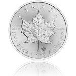 Maple Leaf Česká mincovna Stříbrná investiční mince 5 USD stand 31,1 g