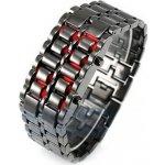 Iron SAMURAI LED Stříbrno - červené