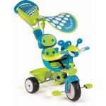 SMOBY 434105 trojkolka Baby Driver Confort SPORT modrá s ručkou, slunečníkem, volantem 66,5 * 50 * 59 cm