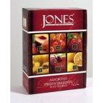 Jones Tea variace černých ochucených čajů 60 kusů