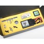 ALIGN 3G Programovatelný FLYBAR systém pro T-REX 250 stříbrný