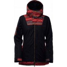BONFIRE Topaz Jacket Ethnic Print Black BLK