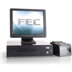 FEC dotyková pokladna PP-9635B-ER5-350LEDHD