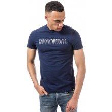 Armani Mens Crew Neck T Shirt Navy