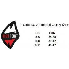High Point Trek 3.0 3-Pack trekové ponožky c8e54a2336