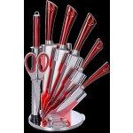 Royalty Line 8-dílná sada ocelových nožů, nůžek a ocílky
