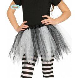 fbeb940b3d30 Tutu sukne detska. Dětský karnevalový kostým Tutu sukně černo bílá