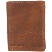 Greenburry Kožená peněženka 685-24 Cognac