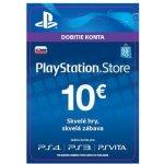 Sony PlayStation Store předplacená karta 10 EUR