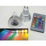 LED žárovka RGB16-2 GU10 60°