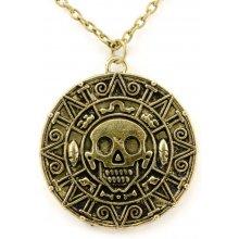 JewelsHall Piráti z Karibiku náhrdelník Aztécká mince 102