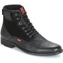 35e3b55ceb7 Levis Kotníkové boty FOWLER Černá